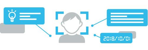 顔認証イメージ画像
